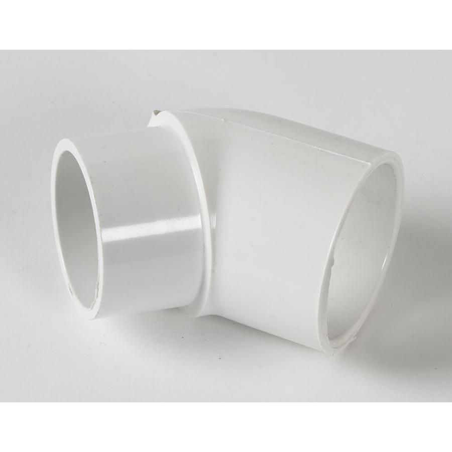 LASCO 2-in Dia 45-Degree PVC Sch 40 Slip Elbow