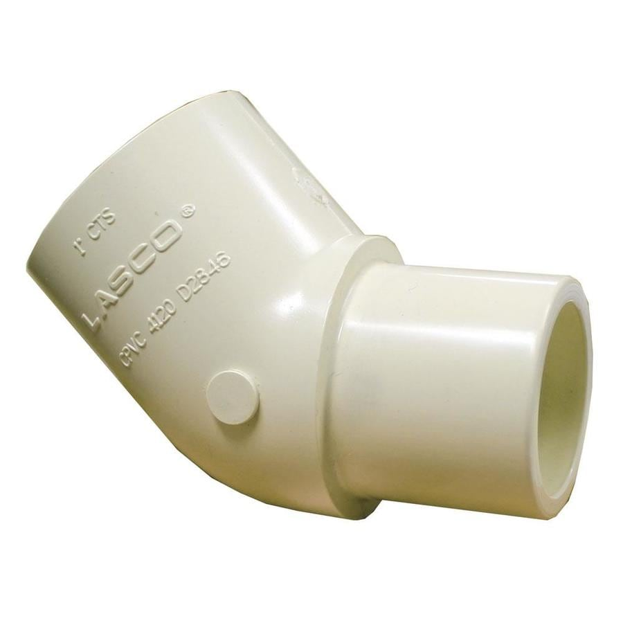 LASCO 1-in Dia 45-Degree Elbow CPVC Fitting