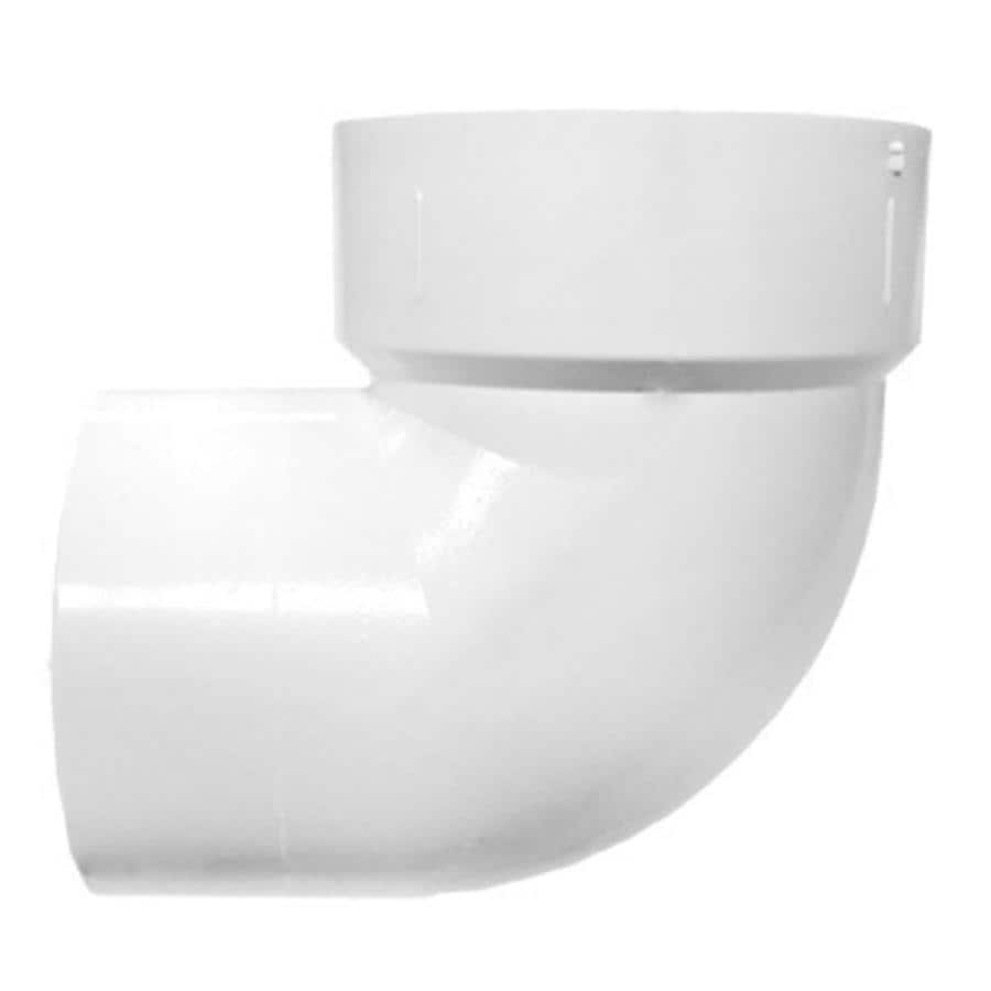 LASCO 2-In Dia 90-Degree PVC Vent Elbow Fitting