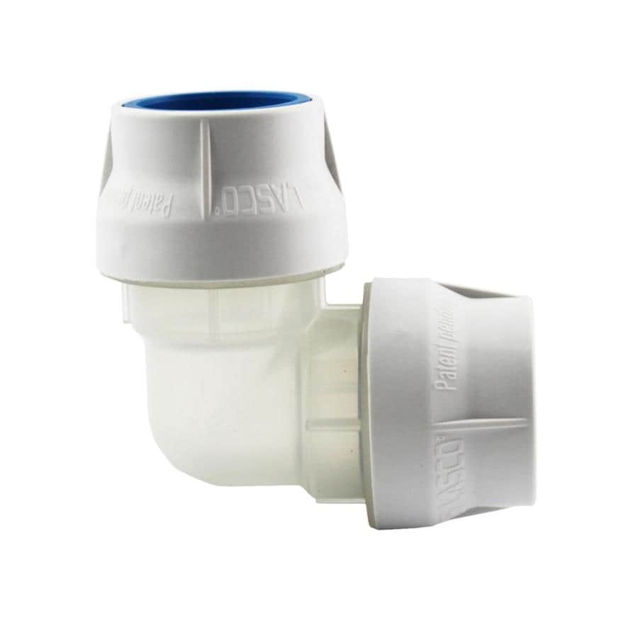 LASCO 3/4-in Dia 90-Degree PVC Sch 40 Elbow