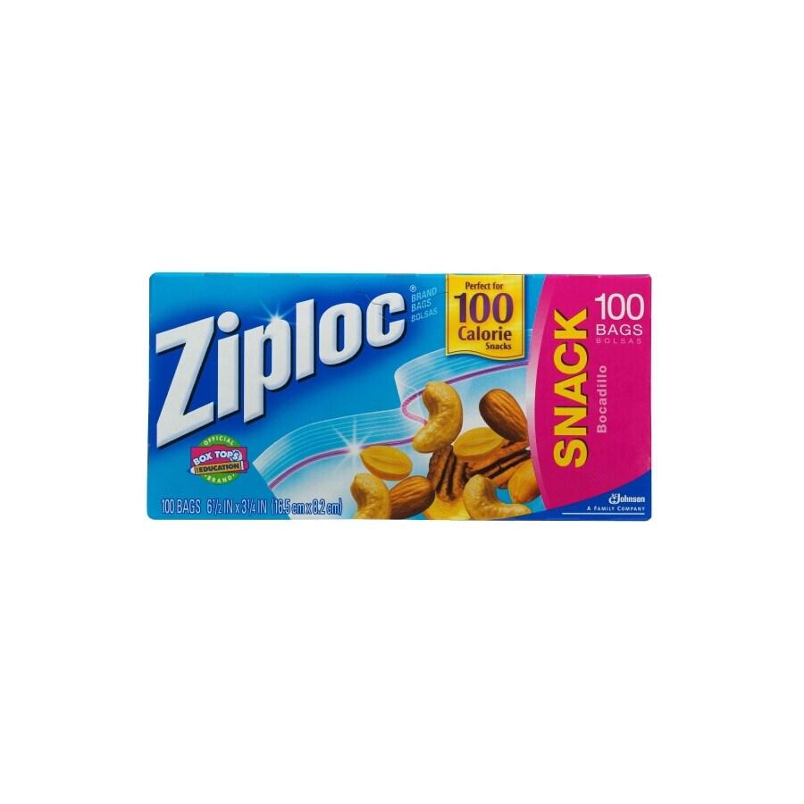 Ziploc 100-Count Quart Plastic Storage Bags