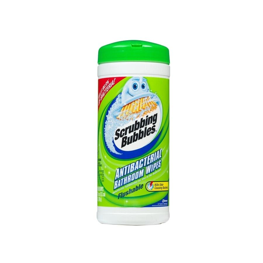 Shop Scrubbing Bubbles 28 Count Flushable Bathroom Wipes