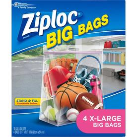 Ziploc 4 Count 10 Gallon Plastic Storage Bags
