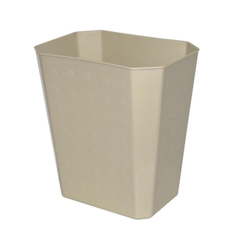 Hefty Tan Wastebasket
