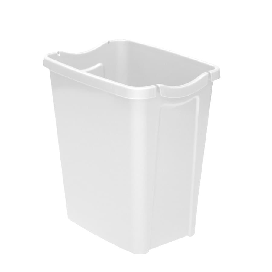 Hefty White Wastebasket