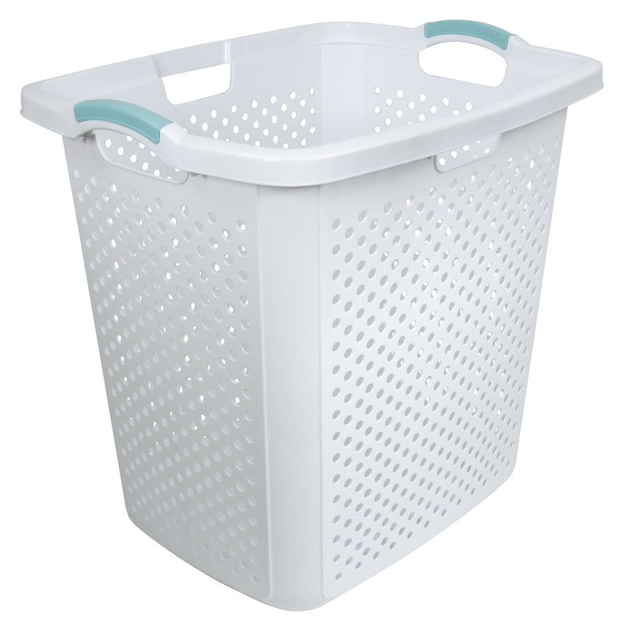 Home Logic 2 5 Bushel Plastic Basket Or Clothes Hamper