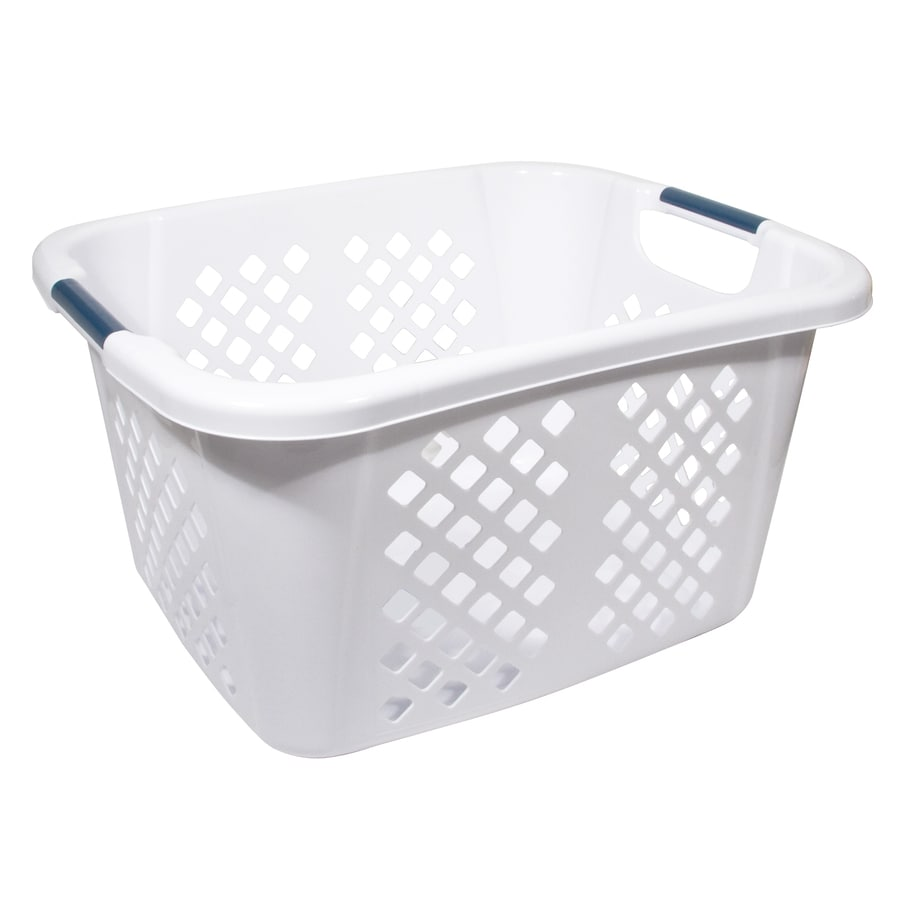 Home Logic 1.5-Bushel Plastic Basket or Clothes Hamper