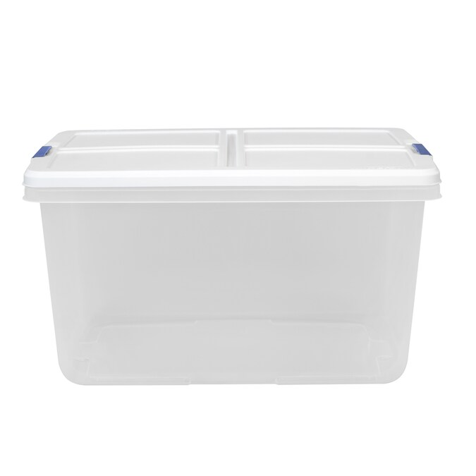 Hefty 16 5 Gallon 66 Quart Clear Base