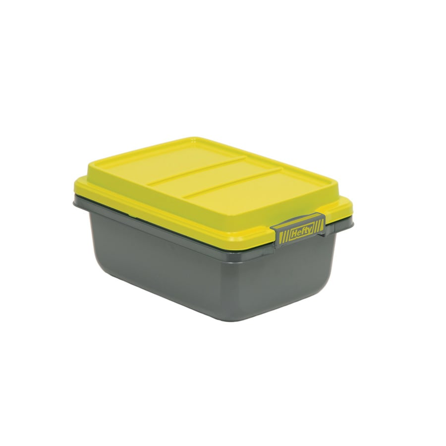 Hefty Hi-Rise Pro 18-QuartTote with Latching Lid
