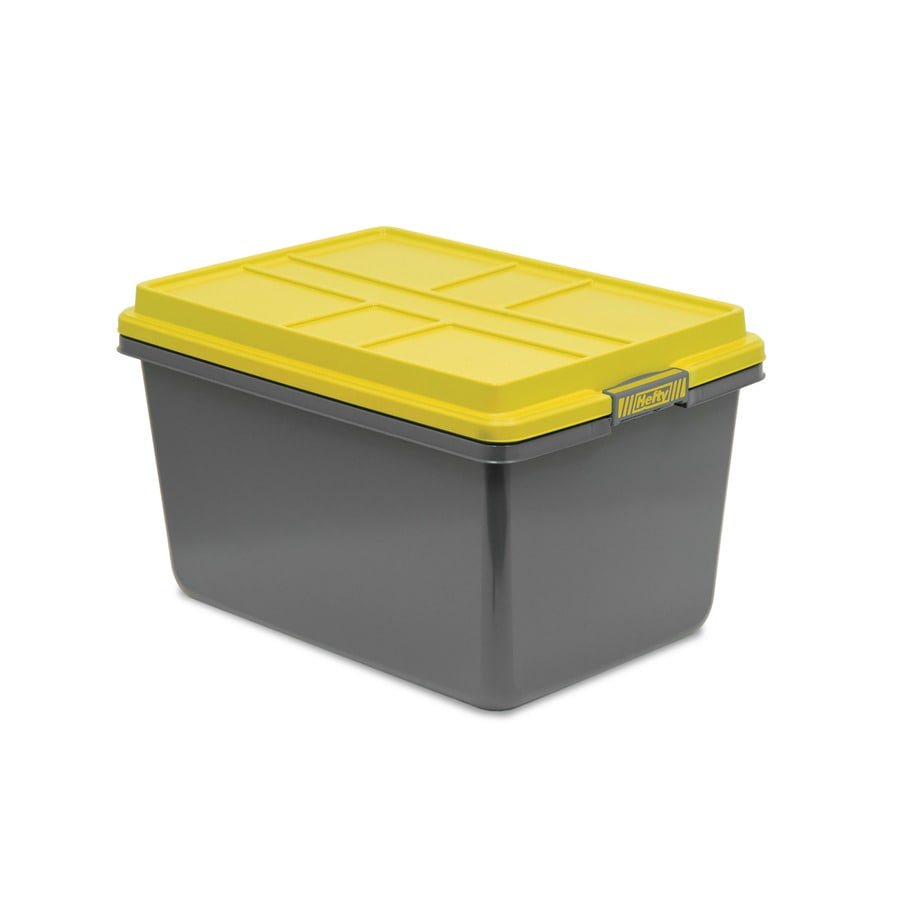 Hefty Hi-Rise Pro 72-QuartTote with Latching Lid