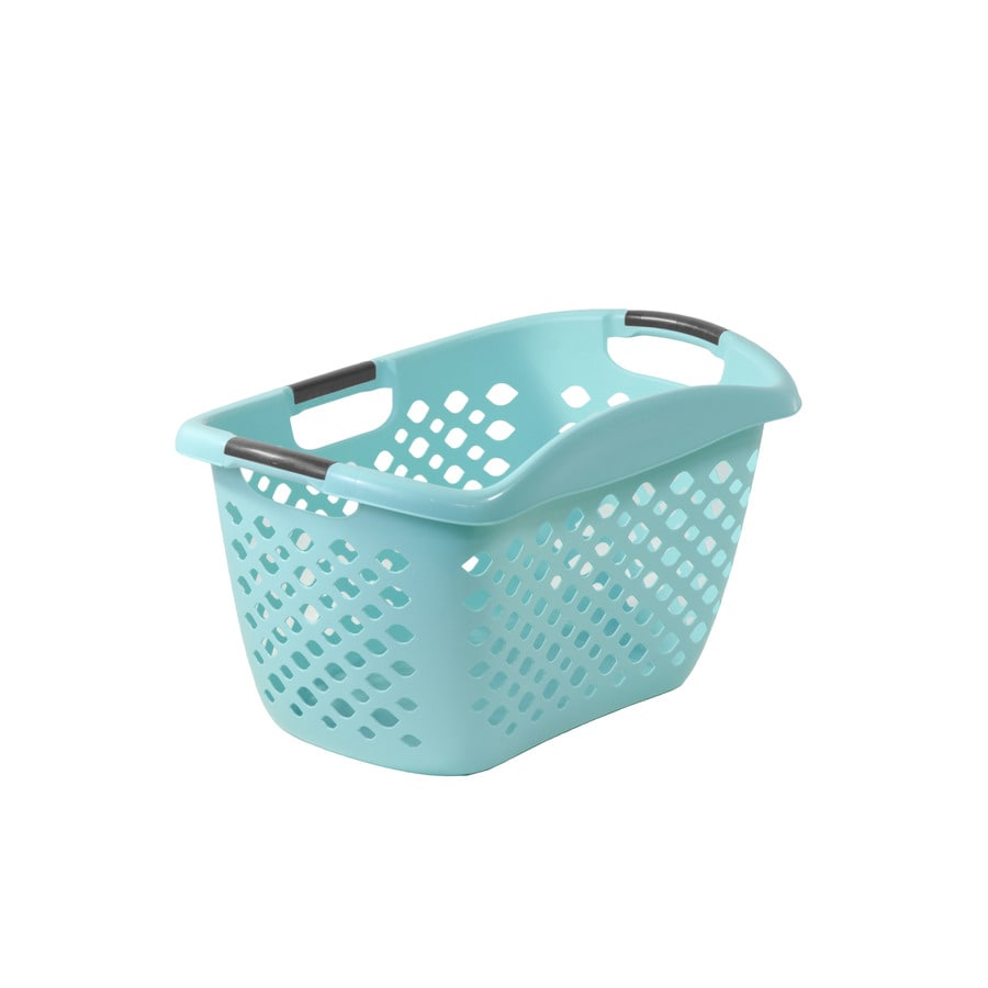 Home Logic 1.75-Bushel Plastic Basket or Clothes Hamper