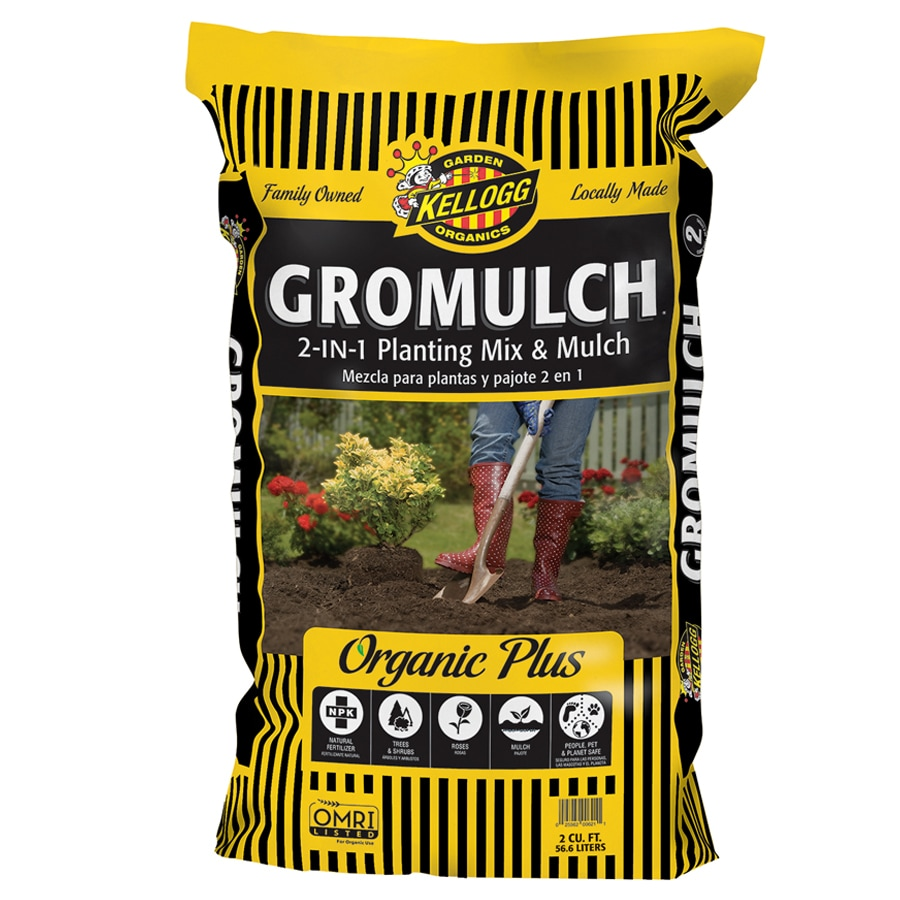 Kellogg 2-cu ft Organic Tree and Shrub Garden Soil