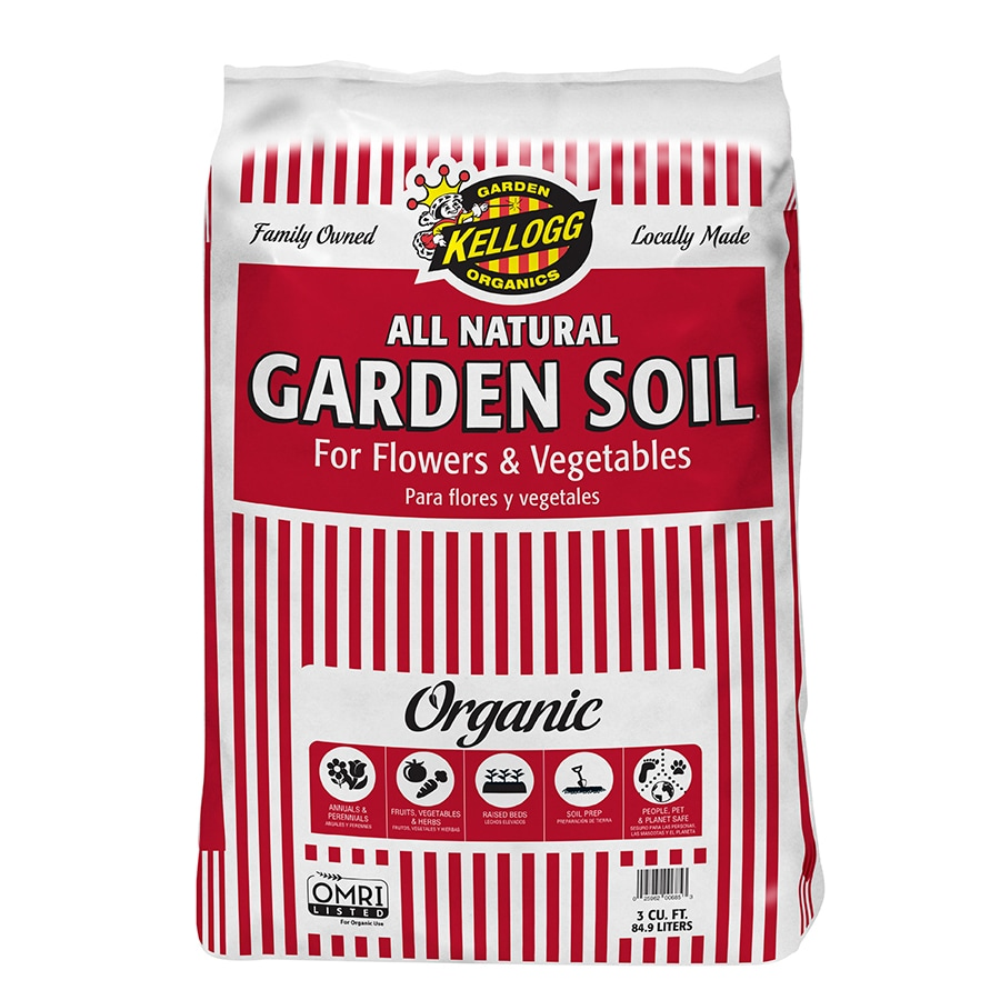 Kellogg 3-cu ft Flower and Vegetable Soil