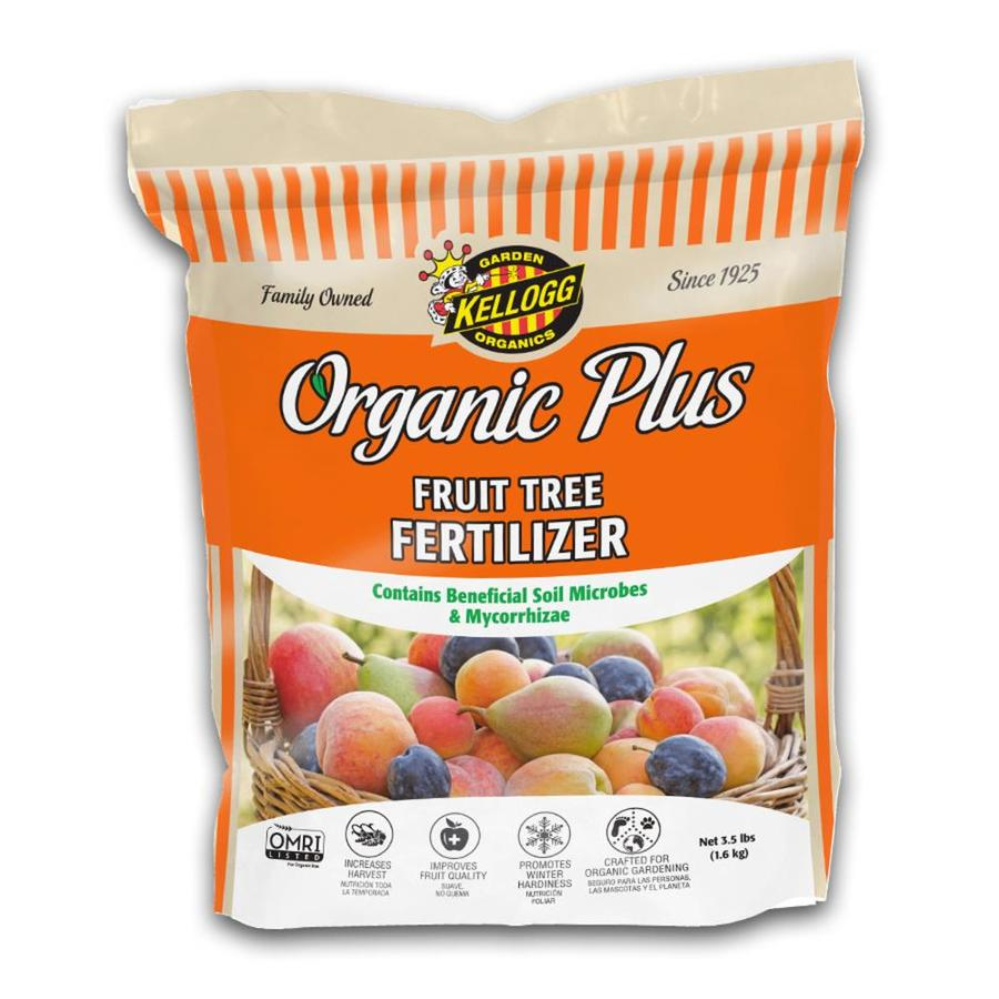 Kellogg Organic Plus 3.5-lb Organic/Natural Tree and Shrub Food (4-5-4)