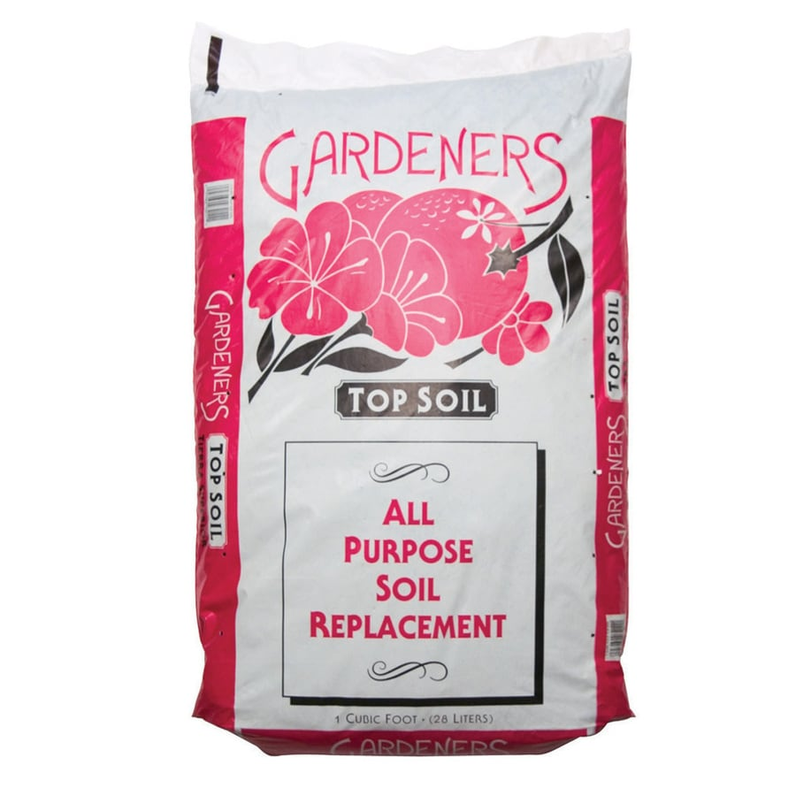 Gardeners 1-cu ft Top Soil