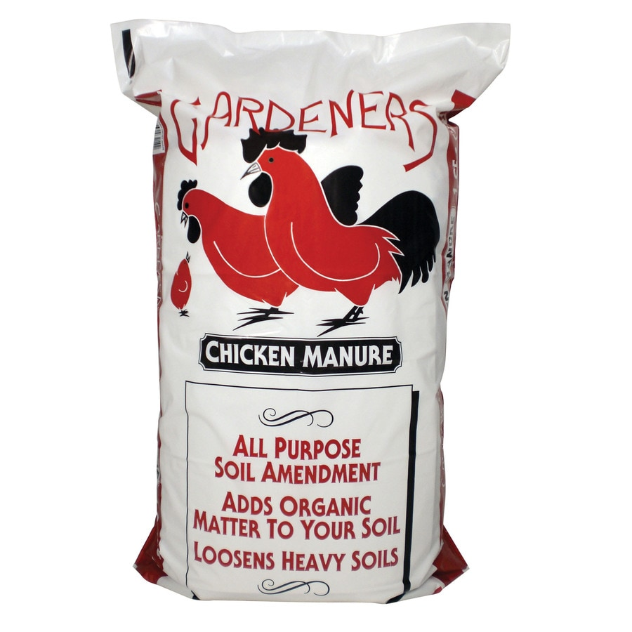 Gardeners 1-cu ft Chicken Manure