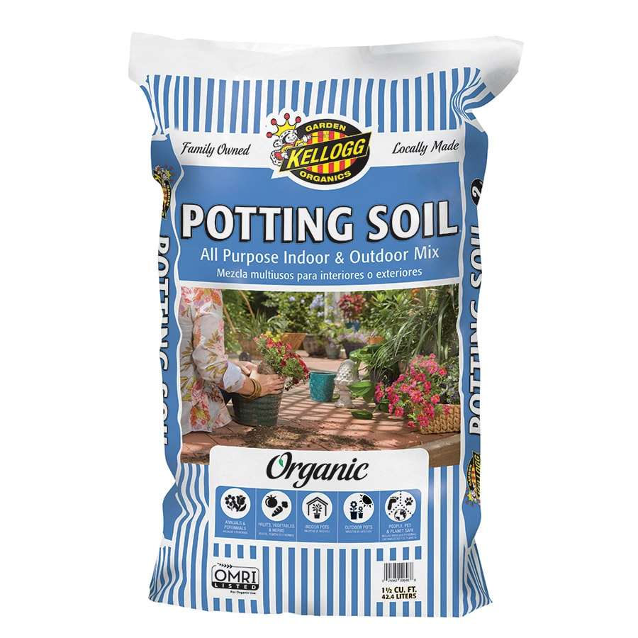 Kellogg 40-Quart Organic Potting Soil