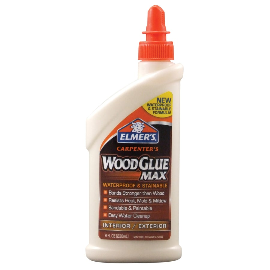 Elmer's Carpenter's 8-oz Wood Glue Adhesive
