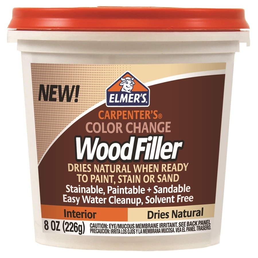Shop Elmer 39 S Carpenter 39 S Color Change 8 Oz Natural Wood Filler At