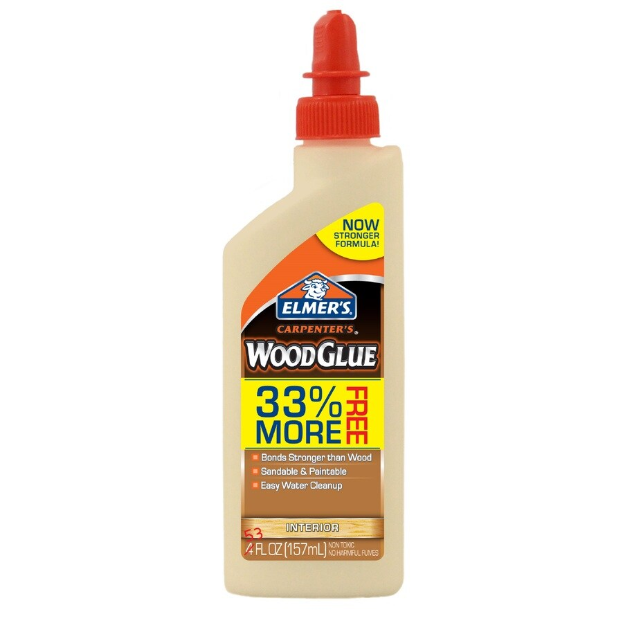 Elmer's Wood Glue Off-White Interior Wood Adhesive (Actual Net Contents: 5.3-fl oz)