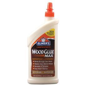 ELMER'S Carpenters Wood Glue MAX Off-white Interior/Exterior Wood Adhesive (Actual Net Contents: 16-fl oz)