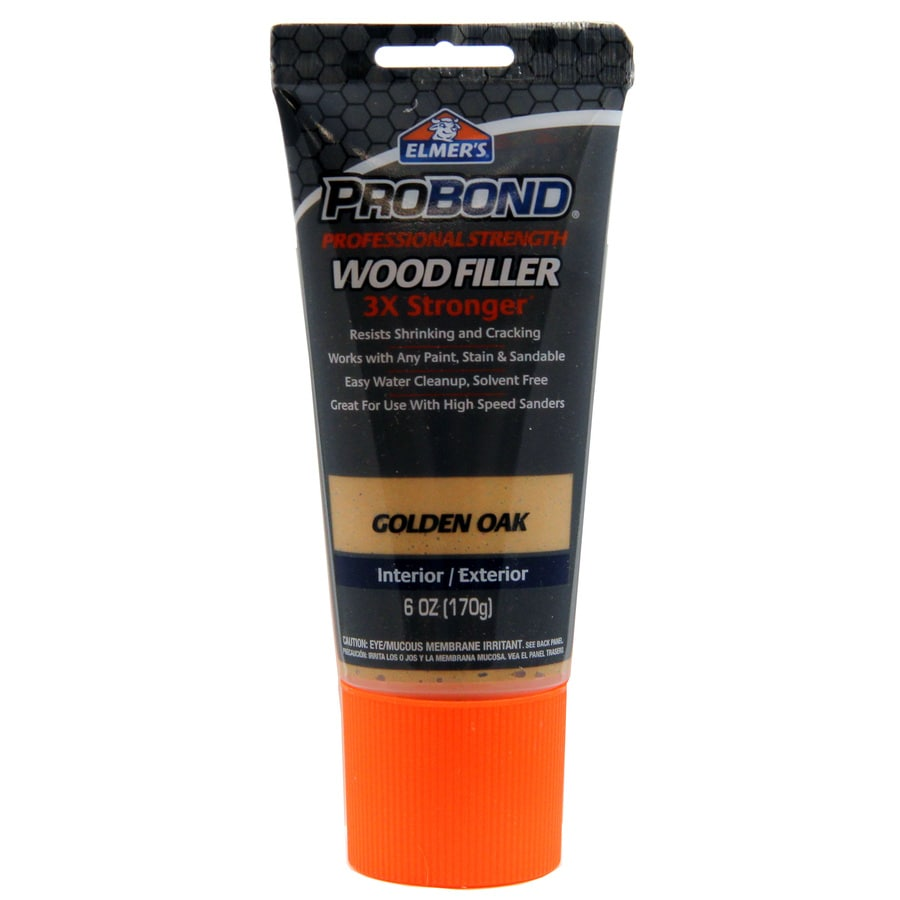Shop Elmer 39 S Probond Professional Strength 6 Oz Golden Oak Wood Filler At