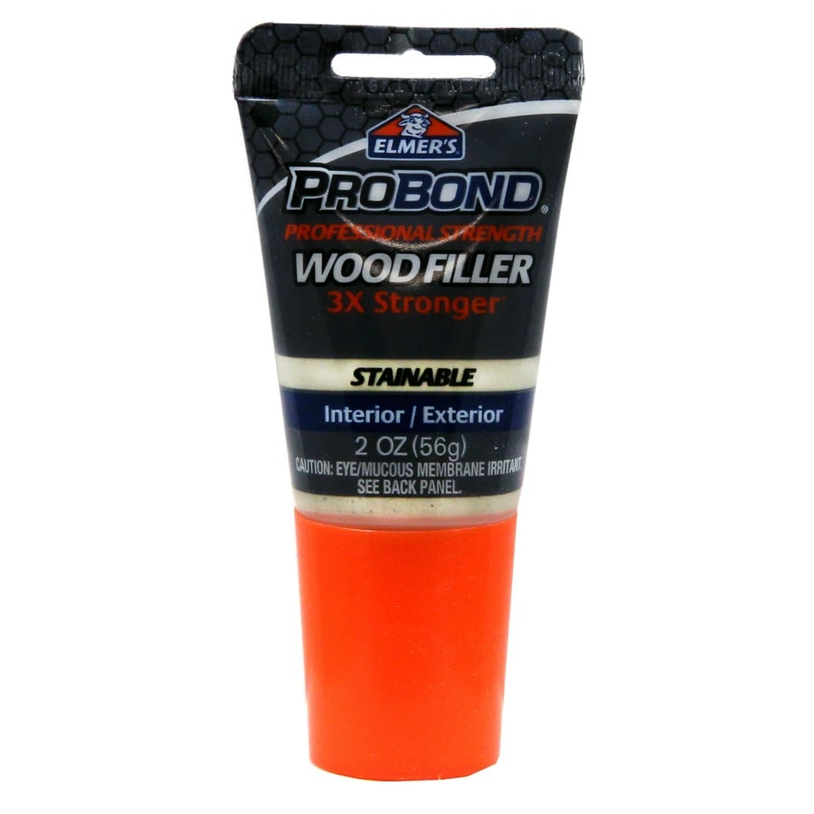 Shop Elmer 39 S Probond 2 Oz Stainable Wood Filler At