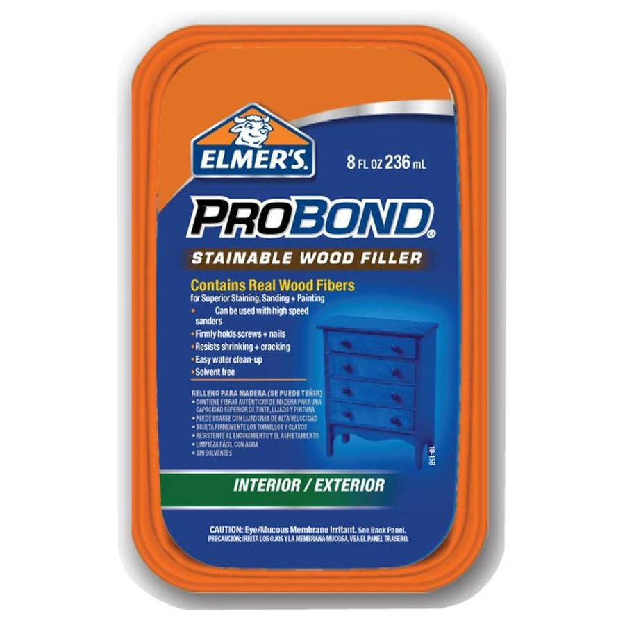 Shop Elmer 39 S Probond 8 Oz Stainable Wood Filler At