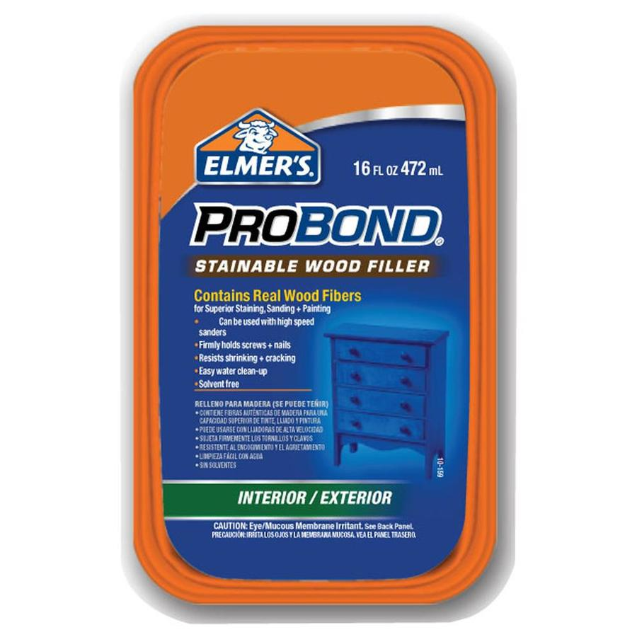 Elmer's 16-oz Probond Wood Filler-Stainable