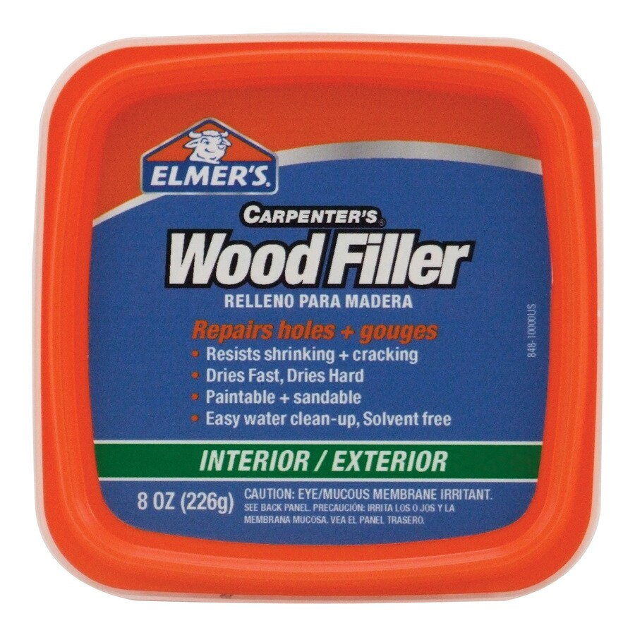 Elmer's Carpenter's Wood Filler-8-oz