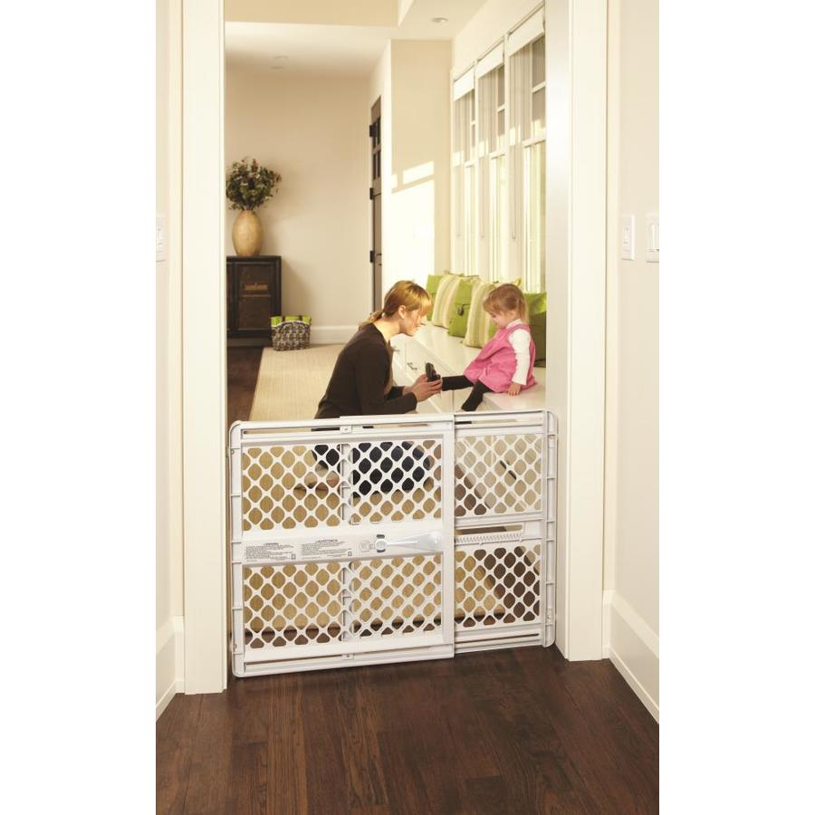 North States Industries Inc. Supergate Classic 42-in x 26-in Gray  sc 1 st  Loweu0027s : baby door - pezcame.com