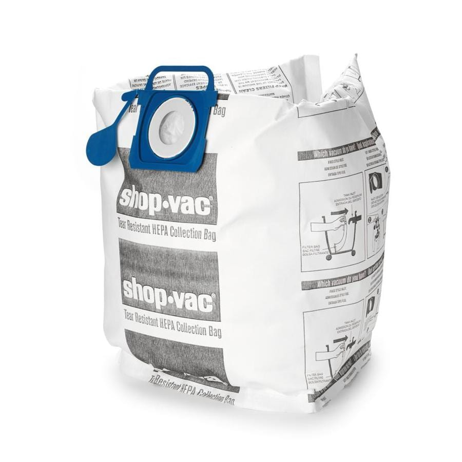 Vac 2 Pack 5 Gallon Collection Bags