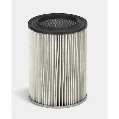 Shop-Vac Reusable Dry Large Shop Vacuum Cartridge Filter at