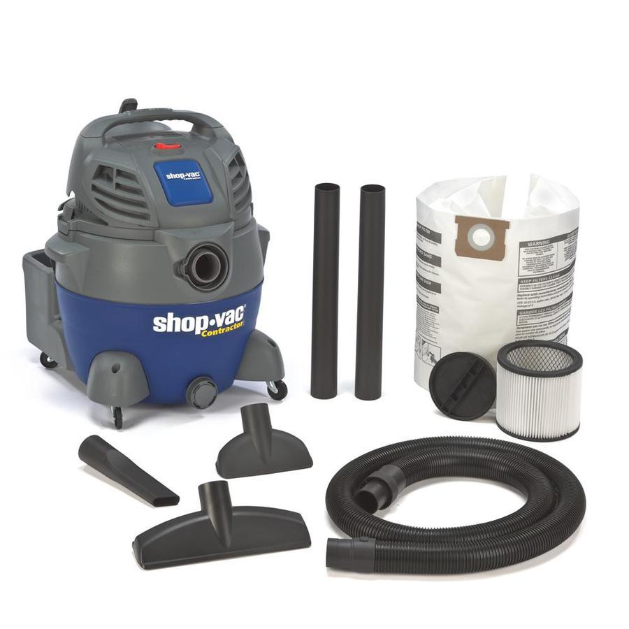 shopvac 16gallon 65peak hp shop vacuum