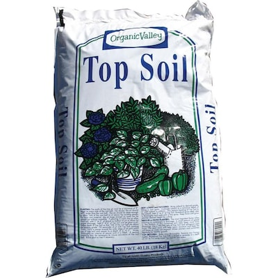Organic Valley 40-lb Top Soil at Lowes com