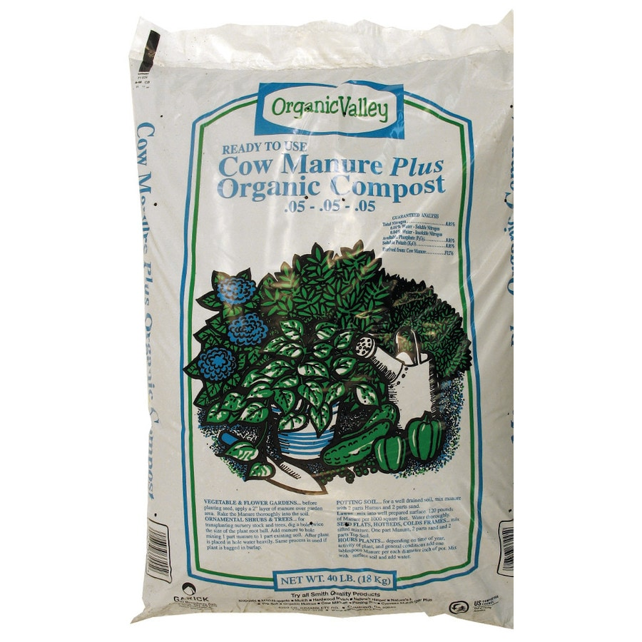 Organic Valley 40-lb Compost And Manure