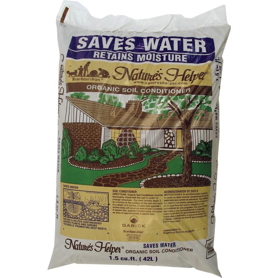 Nature's Helper 1.5-cu ft Organic Soil Conditioner