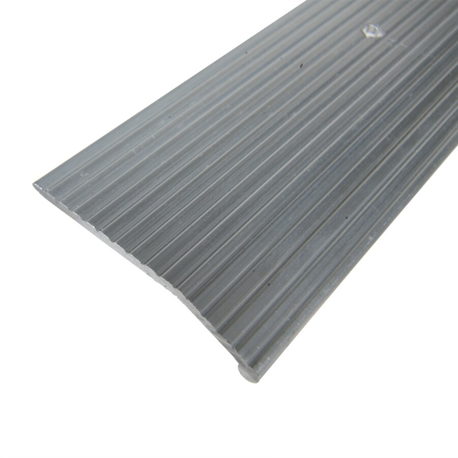 Columbia Aluminum Products 1.375-in x 36-in Silver Carpet Bar