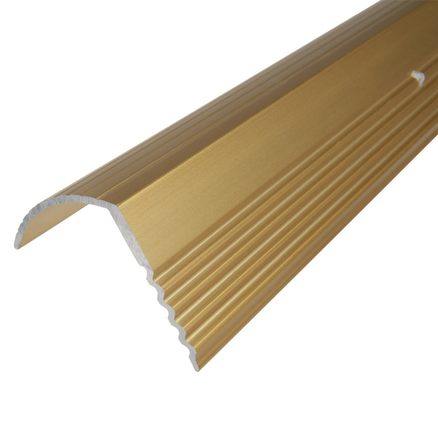 Columbia Aluminum Products 1.0625 In X 96 In Gold Stair Edging
