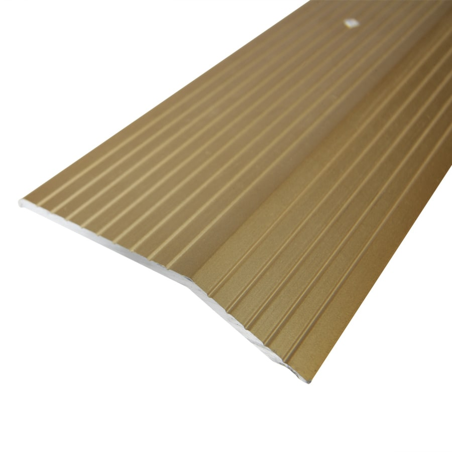 Columbia Aluminum Products 2-in x 36-in Gold Carpet Bar