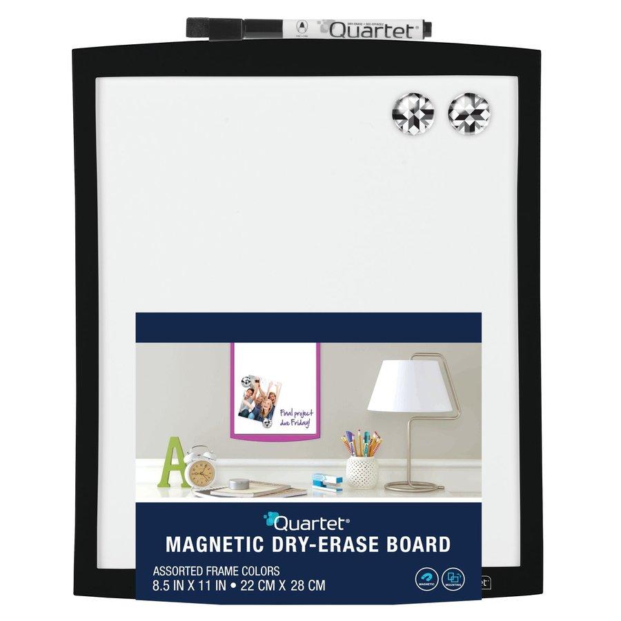 Shop QUARTET Magnetic Dry-Erase Board with Curved Frame at Lowes.com