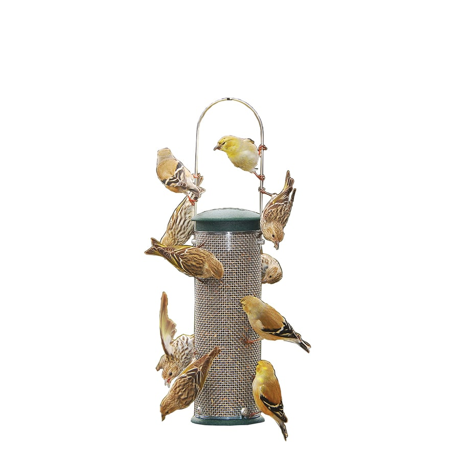 Aspects Metal Squirrel-Resistant Tube Bird Feeder