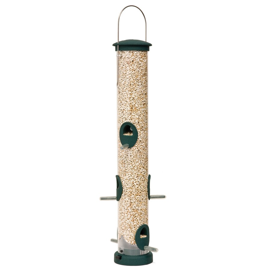 Aspects Quick Clean Large Plastic Tube Bird Feeder