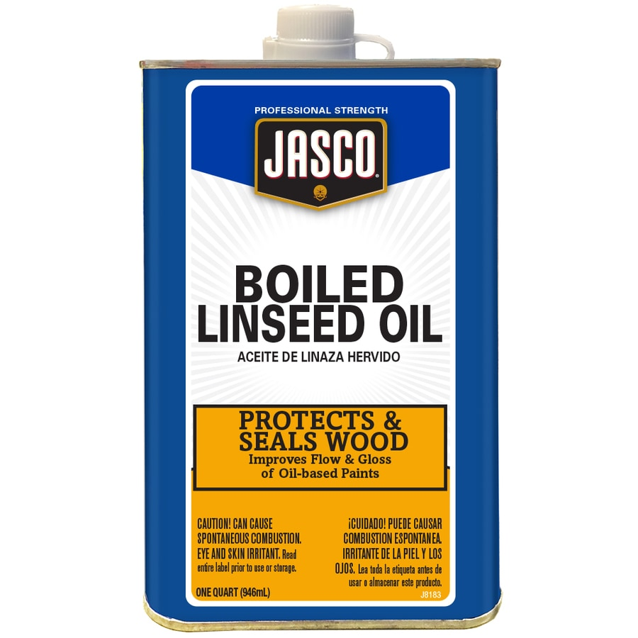 Jasco Quart Size Can Slow to Dissolve Linseed Oil (Actual Net Contents: 32-fl oz)