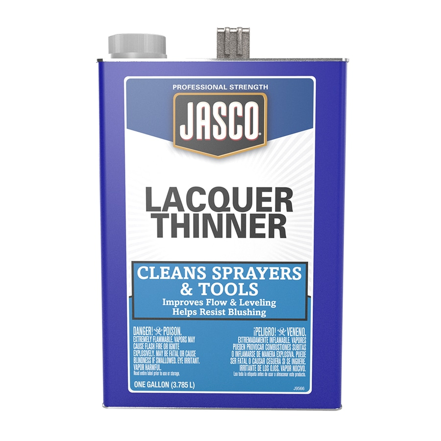 Jasco Gallon Size Can Fast to Dissolve Lacquer Thinner (Actual Net Contents: 128-fl oz)