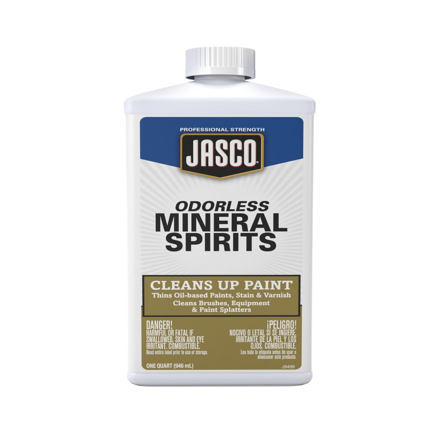 Jasco Quart Size Can Fast to Dissolve Odorless Mineral Spirits (Actual Net Contents: 32-fl oz)