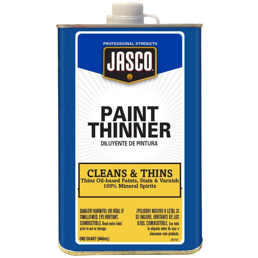 Jasco Quart Size Can Fast to Dissolve Paint Thinner (Actual Net Contents: 32-fl oz)