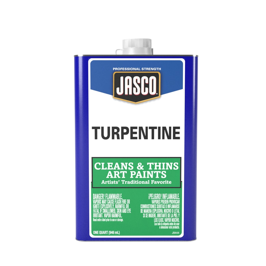 Jasco Quart Size Can Fast to Dissolve Turpentine (Actual Net Contents: 32-fl oz)