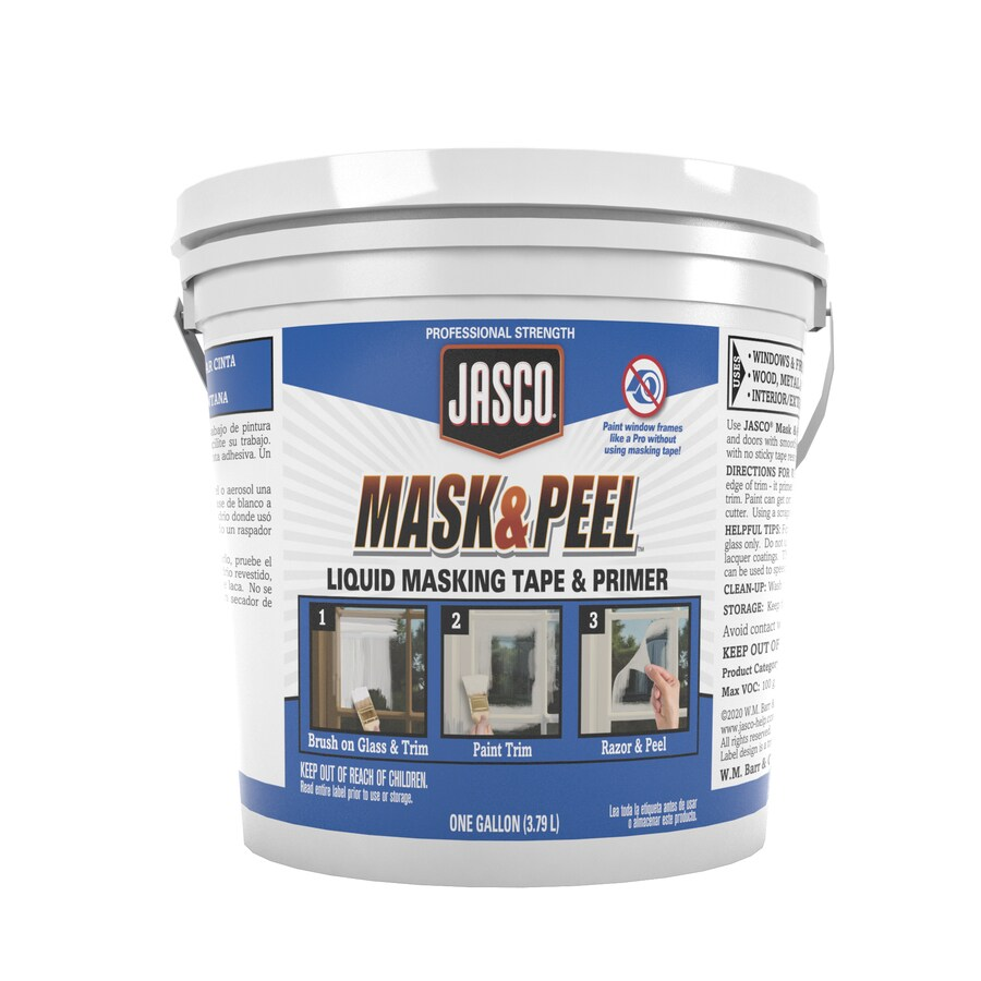 Jasco Liquid Mask And Seal 1 Gl In The Paint Preparation Department At Lowes Com