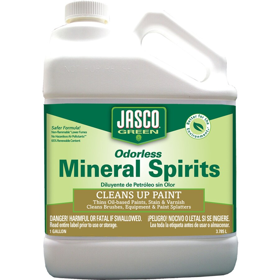 Jasco Gallon Size Can Slow to Dissolve Odorless Mineral Spirits (Actual Net Contents: 128-fl oz)
